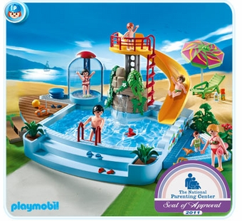 Playmobil <br />Pool with Water Slide #4858