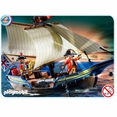 Playmobil <br />Redcoat Battle Ship #5140