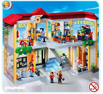 Playmobil <br />School Building #4324