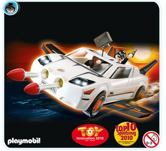 Playmobil <br />Secret Agent Super Racer #4876