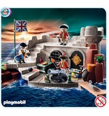 Playmobil <br />Soldiers Fort with Dungeon #5139