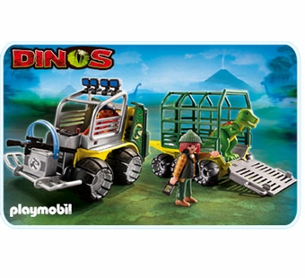 Playmobil <br />Transport Vehicle with Baby T-Rex #5236