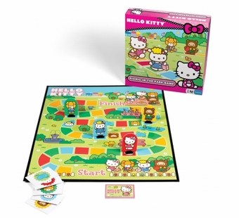 Pressman Toys <br />Hello Kitty Picnic In The Park Game
