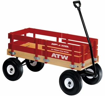 Radio Flyer <br />All Terrain Steel and Wood Cargo Wagon