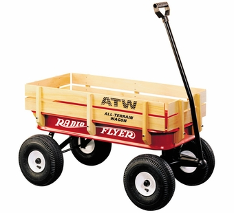 Radio Flyer <br />All-Terrain Steel & Wood Wagon
