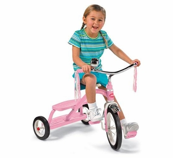 Radio Flyer <br />Classic Pink Dual Deck Tricycle