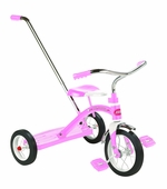Radio Flyer <br />Classic Pink Tricycle with Pushbar