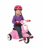 Radio Flyer <br />Girls' Classic Lights & Sounds Trike
