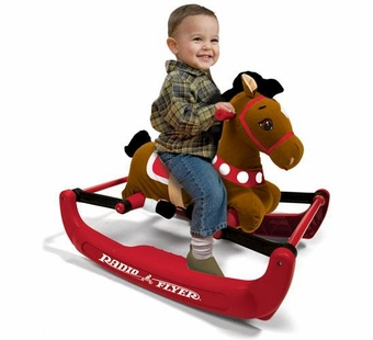 Radio Flyer <br />Soft Rock & Bounce Pony with Sound