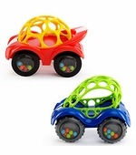 Rhino Oball Toys <br />Rattle / Roll Car