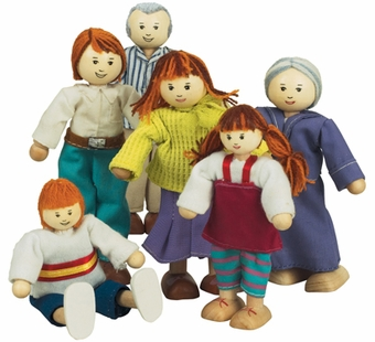 Ryans Room <br />Caucasian Doll Family