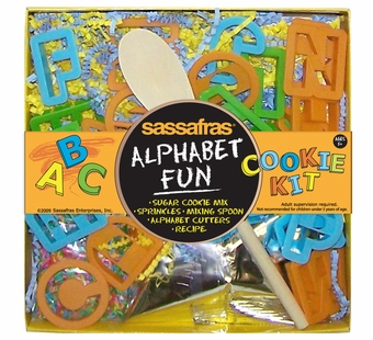 Sassafras Kids <br />Alphabet Fun Cookie Baking Kit