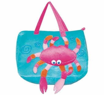 Sassafras Kids <br />Chole Crab Seafriends Plush Bag