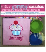 Sassafras Kids <br />Cupcake Making Kit with Apron