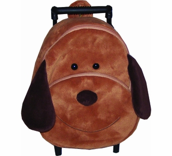 Sassafras Kids <br />Dexter the Dog Plush Pull-along Backpack