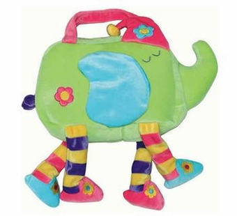 Sassafras Kids <br />Ellie Elephant Sleepwalkers Overnight Bag