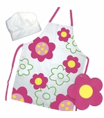 Sassafras Kids <br />Flower Power Apron Set