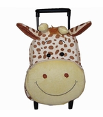 Sassafras Kids <br /> Gigi Giraffe Plush Pull-along Backpack