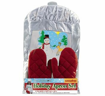 Sassafras Kids <br />Holiday Apron Set