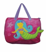 Sassafras Kids <br />Madeline Mermaid Seafriends Plush Bag