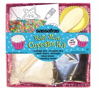 Sassafras Kids <br />Mini Cupcake Making Kit