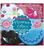 Sassafras Kids <br />Mini Flower Cake Baking Kit