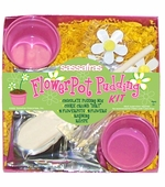 Sassafras Kids <br />Mini Flower Pot Pudding Kit