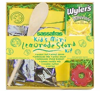 Sassafras Kids <br />Mini Lemonade Stand Kit