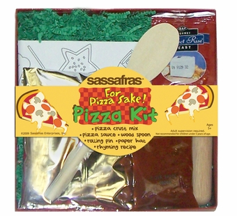 Sassafras Kids <br />Mini Pizza Making Kit