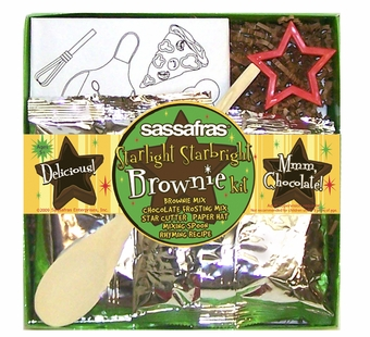Sassafras Kids <br />Mini Starlight Brownies Making Kit