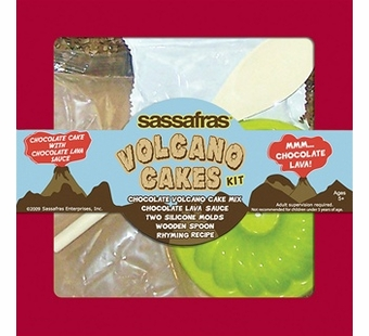 Sassafras Kids <br />Mini Volcano Cakes Tray Kit