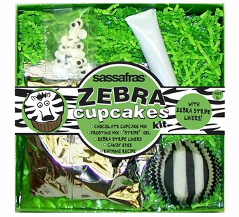 Sassafras Kids <br />Mini Zebra Cupcake Baking Kit
