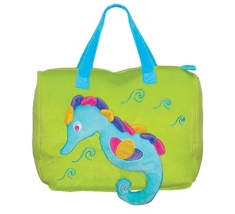 Sassafras Kids <br />Sammy Seahorse Seafriends Plush Bag