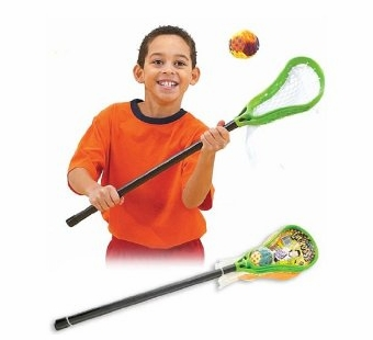 Saturnian <br />Lacrosse Set with 2 Sticks & Ball