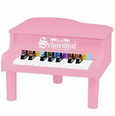 Schoenhut <br />Mini Grand Pink Piano 18-key