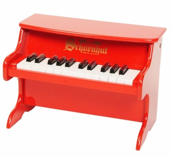 Schoenhut <br />My First Red Piano 25-key