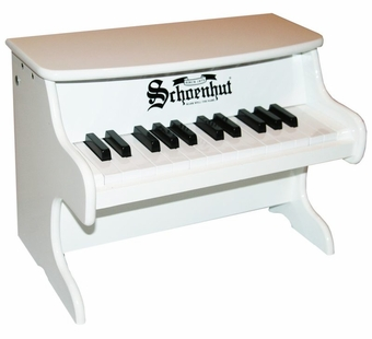 Schoenhut <br />My First White Piano 25-key