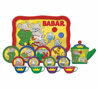 Schylling Toys <br />Babar Tin Tea Set