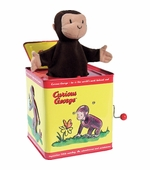 Schylling Toys <br />Curious George Jack in the Box