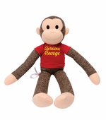 Schylling Toys <br />Curious George Sock Monkey 20""