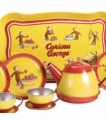 Schylling Toys <br />Curious George Tin Tea Set