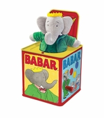 Schylling Toys <br />Jack In The Box Babar