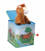 Schylling Toys <br />Jack in the Box Horse with Voice Chip
