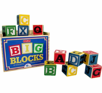Schylling Toys <br />Large Alphabet Blocks