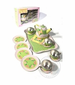 Schylling Toys <br />Tin Teaset of Garden in Basket