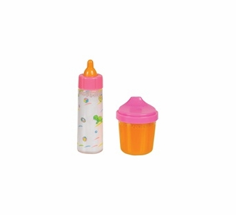 Small World Toys <br />Baby Doll Bottle & Juice Cup