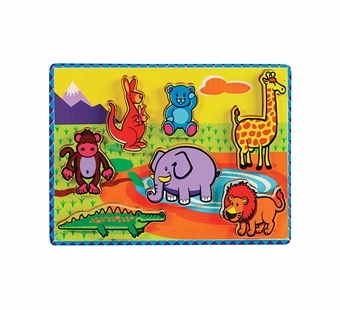 Small World Toys <br />Chunky Jungle Puzzle