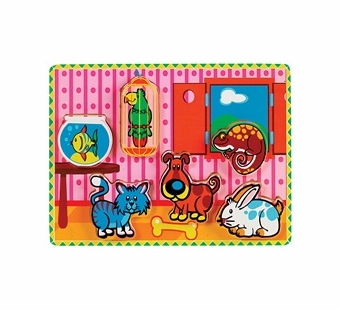 Small World Toys <br />Chunky Pets Puzzle