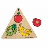 Small World Toys <br />Fruit Wood Puzzle