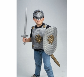 Small World Toys <br />Gladiator Set Silver